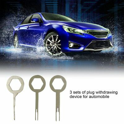3PCS/Set Auto Car Plug Terminal Extraction Pick Back Needle Terminal ExtractioF!