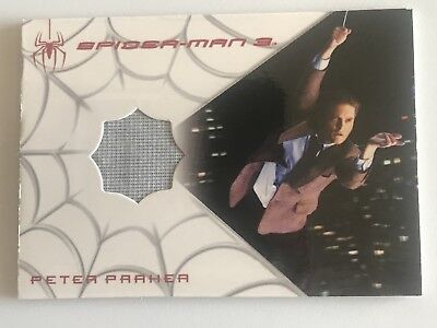 Upper Deck SPIDER-MAN 3 Peter Parker TOBEY MAGUIRE White Costume Card 8/225