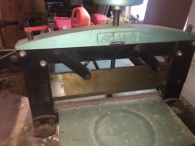 ADANA Vintage Paper Cutter - Industrial Quality - Works Perfect