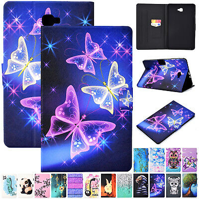 """For Samsung Galaxy Tab A6 10.1"""" T580 T585 Folio Leather Wallet Stand Case Cover"""