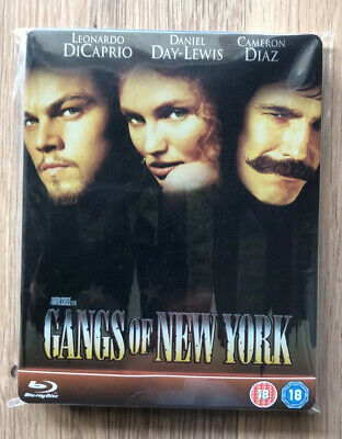GANGS OF NEW YORK Blu Ray Leonardo DiCaprio English only -Read note-