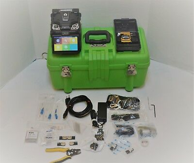Inno View 3 Sm Mm Active Alignment Fiber Fusion Splicer W/ V7 Cleaver