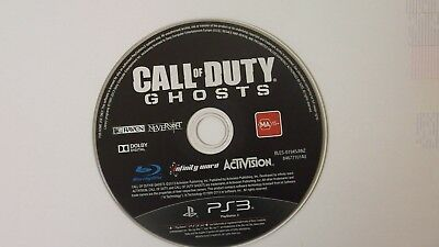 """call of duty ghosts (PlayStation 3 PS3) - """"GAME DISC ONLY"""""""
