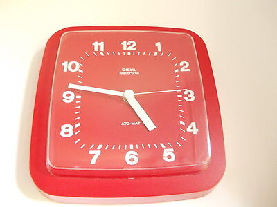 DIEHL  RED ELECTRONIC ATO-MAT Vintage Junghans 70S made in germany