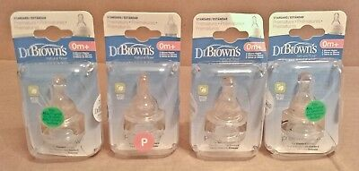 Dr. Brown's Premature infant silicone nipples (Qty. 8 nipples) *Free Ship