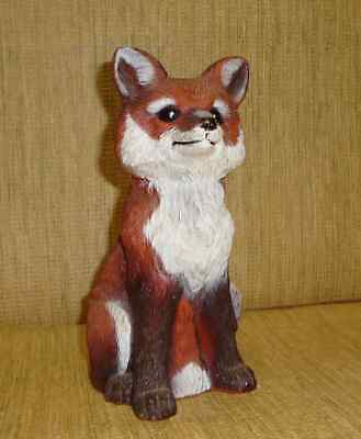 1992 Artline Indoor/Outdoor Fox Statue 8 1/2 Inch