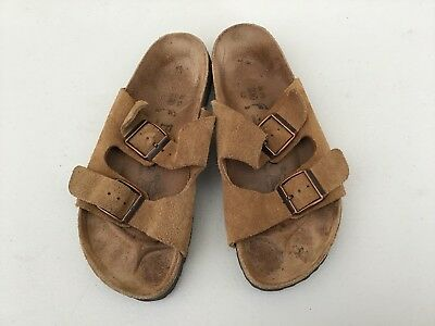 fc3dfdd18577 BIRKENSTOCK BETULA WOMENS Sandals Brown Suede Leather Arizona 2 Strap Size  5 -  19.00