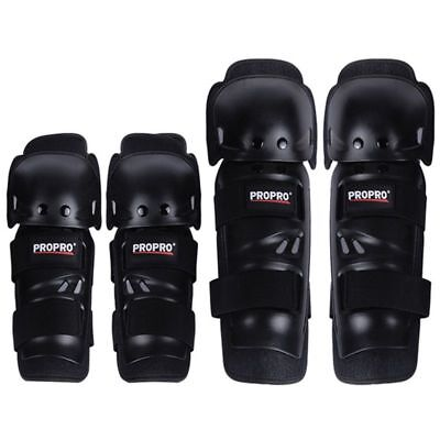 PROPRO 4Pcs/Set Outdoor Elbow and Knee Pads Protector Pe+Eva Adult Free Size 4K2