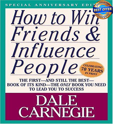 How to Win Friends and Influence People✅PDF Instant Delivery🚀