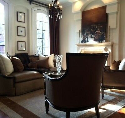 Marge Carson Stunning Pair Of Evangeline Chairs