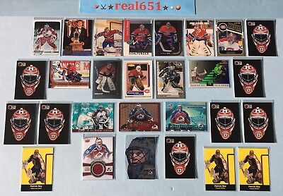 1991~2015 PATRICK ROY Goalie SP-Relic Lot x 28 | Painted Warriors /2500 The Mask