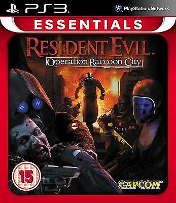 Resident Evil: Operation Raccoon City Sony PlayStation 3 PS3 Brand New SEALED
