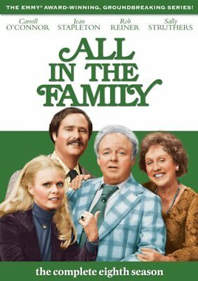 ALL IN THE FAMILY SEASON 8 New Sealed 3 DVD Set