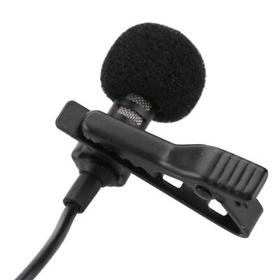 Clip-on Lapel External Lavalier Microphone for PC Laptop Cell Phone Pad UP US