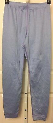 Patagonia Capilene Kid's Unisex Base Layer Bottoms Pants Light Blue Size L