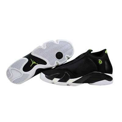 664d5284d75 NIB YOUTH BOYS Nike Air Jordan 14 Retro BG White Black Oxidized ...