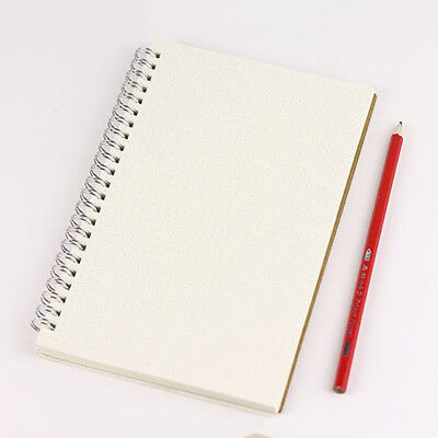 A5 Bullet Journal Notebook Medium Hardcover 90 pages Dot Grid Diary White
