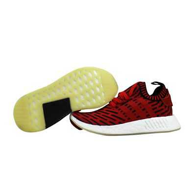 4ba1aceb2 ADIDAS NMD R2 Primeknit Red Black-White BB2910 Men s SZ 6 -  47.10 ...
