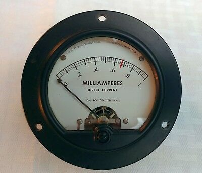 TRIPLETT, ETC MILLIAMP mA PANEL METERS, GREAT USA VINTAGE      *SELECT RANGE