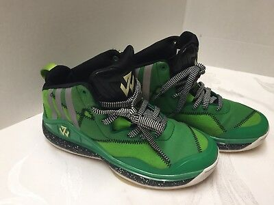 info for 10a86 758bb Adidas J Wall 2014 Boys Youth Bad Dream Basketball Shoes Multi-green Size  5.5
