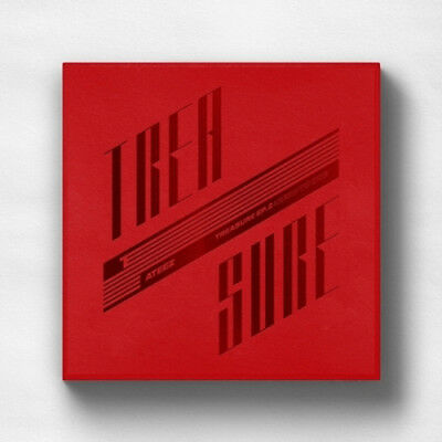 ATEEZ [TREASURE EP.2 : ZERO TO ONE](2nd Mini) CD+On Pack Poster+Gift+Tracking no
