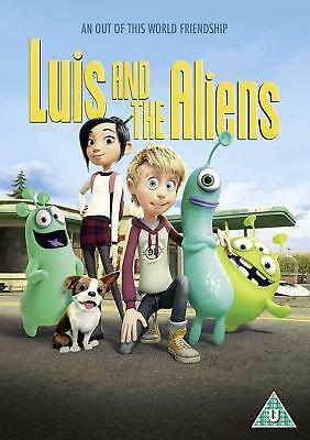 Luis And The Aliens  - Dvd - New
