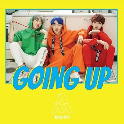M.O.N.T MONT [Going up](1st Mini Album)CD+Booklet+Photocard+Stickers+Tracking no