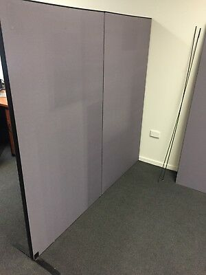 Office Partitions (3 qty x 900 width x 1680 high)