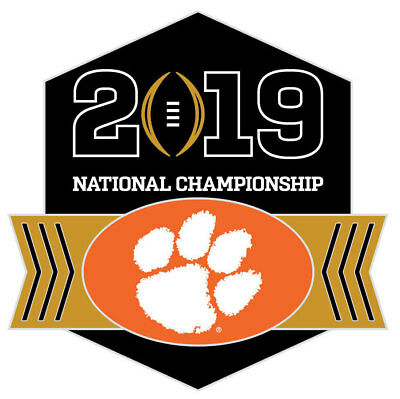 Official 2019 College Football National Championship Game Pin Clemson Tigers