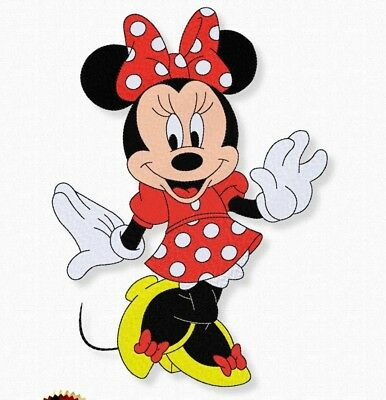Embroidery design Minnie Mouse Disney. Machine small and large pattern for kids