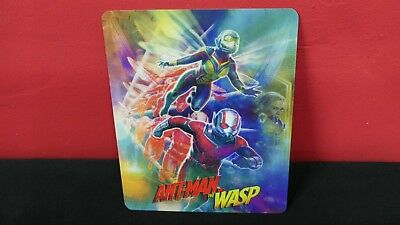 Ant-man and the Wasp - 3D Lenticular Magnetic Cover Magnet for BLURAY STEELBOOK