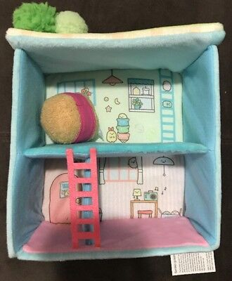 "BRAND NEW! San-X Sumikko Gurashi 7"" Upstairs Downstairs Scene Plush USA SELLER"