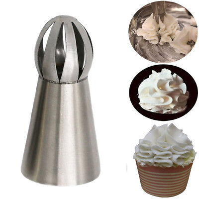 Sphere Icing Piping Cake Nozzles Pastry Tips Cupcake Buttercream Bake Tool