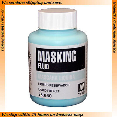 Vallejo #28850 Liquid Masking Fluid (85ml)