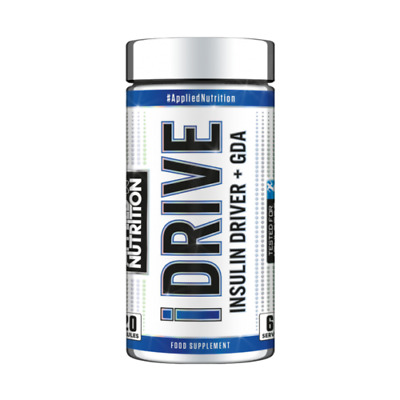I Drive 120 Caps - Insulin Driver + GDA BEST ONLINE PRICE Applied Nutrition