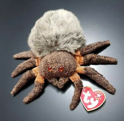 e18189117f4 Ty Beanie Baby Collection Hairy The Spider Tarantula Soft Cuddly Toy Plush  2000