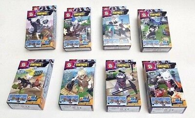 Fortnite Toy Action Figure 32+pcs BUILD Your Character Kids Adults (8in1Fusion)
