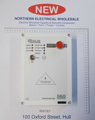 Merlin CT1250 Gas Interlock Safety System for Commercial Kitchens (600387)