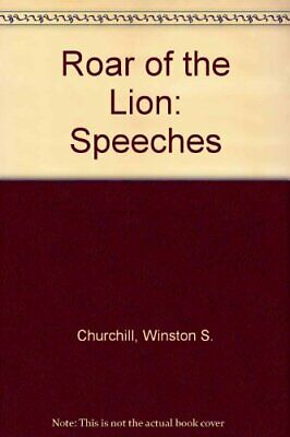 Roar of the Lion: Speeches by Churchill, Winston S. Book The Cheap Fast Free