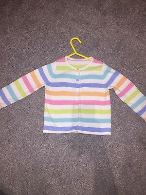 Stripy Cardigan Age 18-24 Months Old