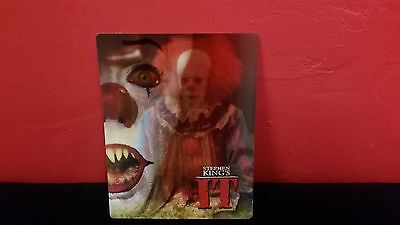 Stephen King's IT 🎈 I.T - 3D Lenticular Cover / Magnet for BLURAY STEELBOOK es