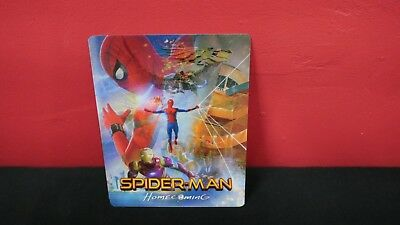 SPIDER-MAN HOMECOMING - 3D Lenticular Magnetic Cover Magnet for BLURAY STEELBOOK