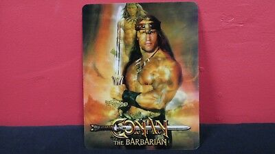 CONAN THE BARBARIAN - 3D Lenticular Magnetic Cover Magnet for BLURAY STEELBOOK