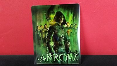 ARROW - 3D Lenticular Card Magnet Magnetic Cover for BLURAY STEELBOOK
