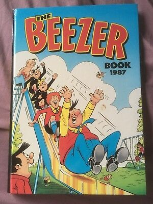 The Beezer Book Annual 1987 *** Excellent Condition ***