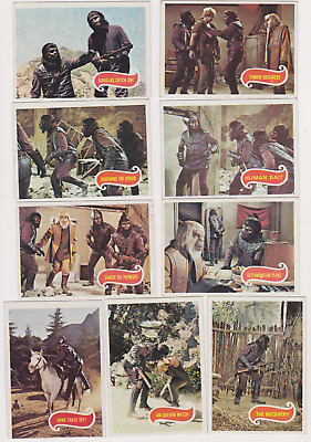 SET BREAK 1975 Topps PLANET OF THE APES PICK ONE /MULTIPLE NICE CARDS NO CREASES