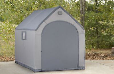Flowerhouse 6 ft. W x 7 ft. 5 in. Portable Storage Shed