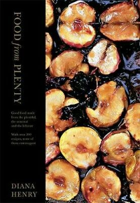 NEW Food From Plenty By Diana Henry Hardcover Free Shipping