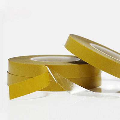 100M Double-Sided Adhesive Tape Transparent High Temperature PET Tape 0.5-7cm