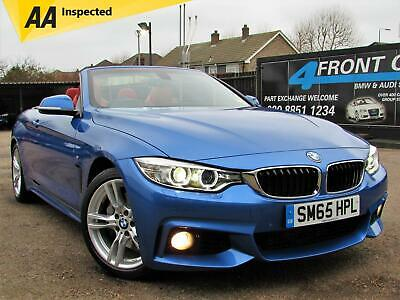 2015 Bmw 4 Series 435I M Sport Automatic Cabriolet Convertible Petrol